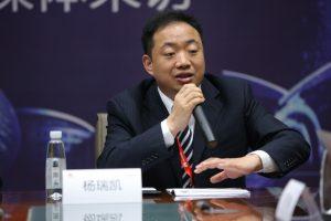 华为企业云业务部总裁杨瑞凯
