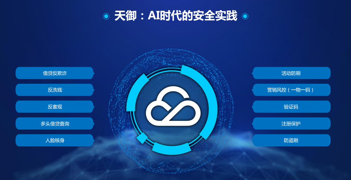 腾讯云天御:AI阻断黑产入侵