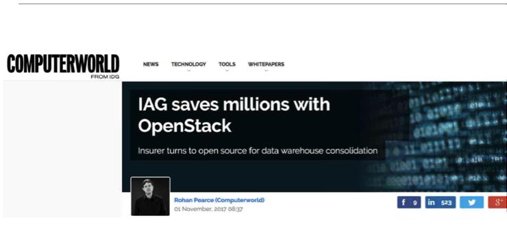 OpenStack不行了吗?悉尼峰会回答你